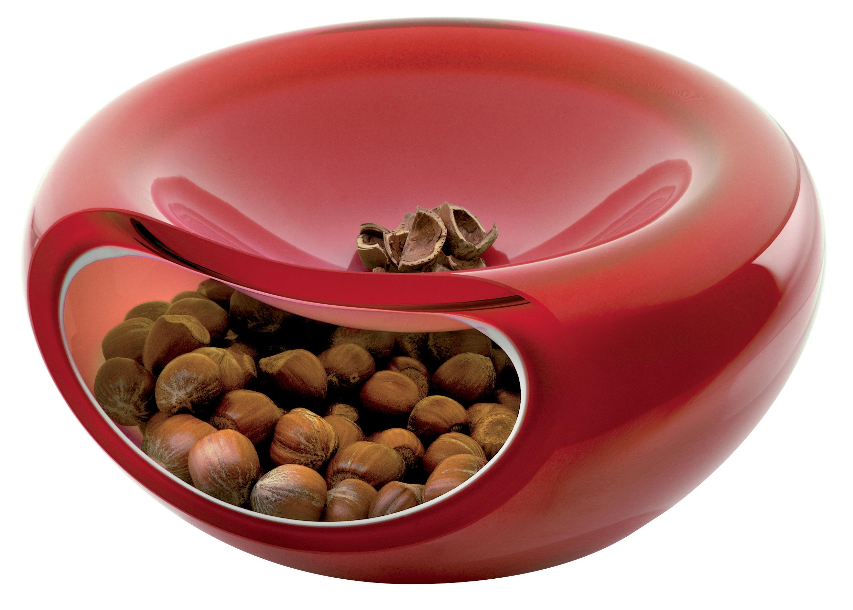 Déco - Corbeilles, centres de table, vide-poches - Coupe Smiley Ø 21 cm - Eva Solo - Rouge - Verre soufflé bouche