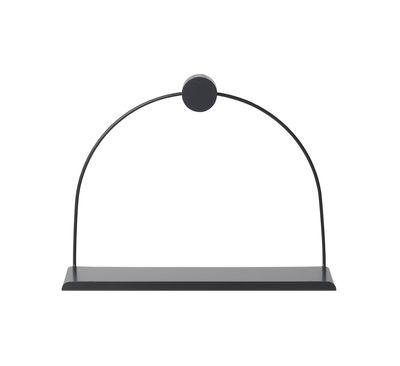 Etagère Black / L 26 x H 21 cm - Ferm Living noir en métal