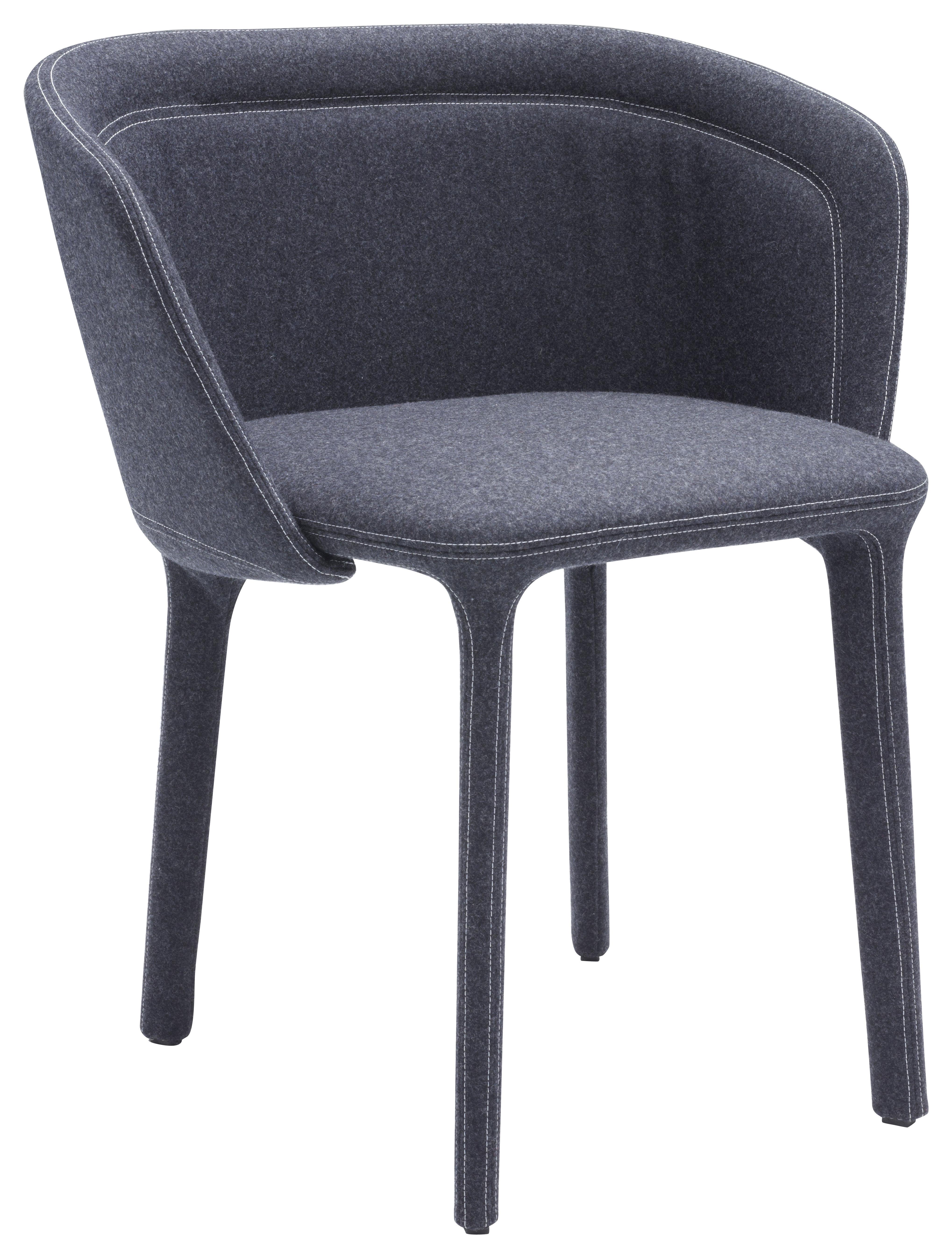 Möbel - Stühle  - Lepel Gepolsterter Sessel / Stoffbezug - Casamania - Stoff