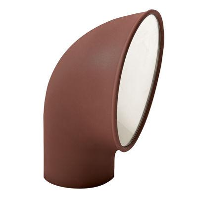 Leuchten - Außenleuchten - Piroscafo Lichtsäule / LED - H 37 cm - Artemide - Rost - Gussaluminium, Polykarbonat