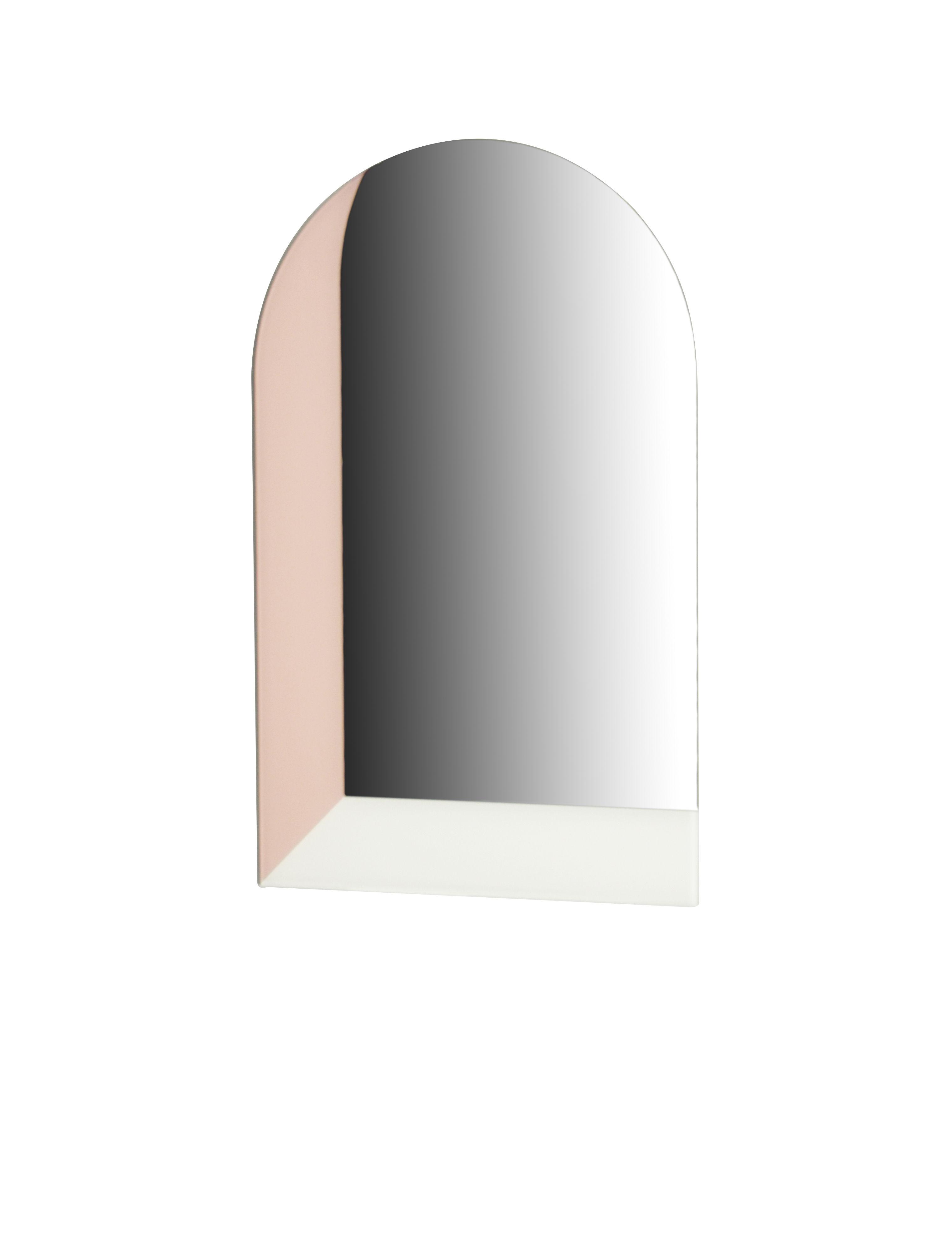 Déco - Miroirs - Miroir mural Linna Medium / H 70 cm - ENOstudio - Rose & ivoire - Miroir