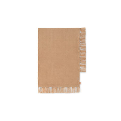 Decoration - Rugs - Hem Rectangular XS Outdoor rug - / 70 x 50 cm - Recycled plastic bottles by Ferm Living - 50 x 70 cm / Sand -  PET recyclé
