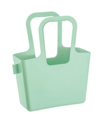 Panier Taschelino / L 33 x H 38 cm - Koziol vert menthe en matière plastique