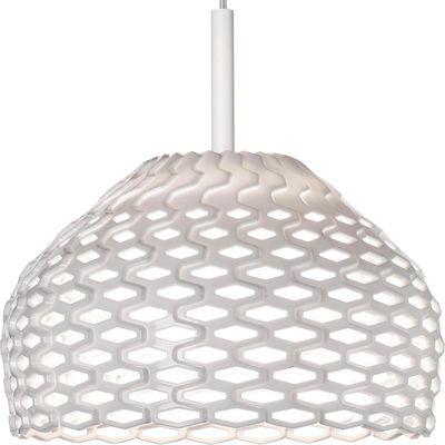 Lighting - Pendant Lighting - Tatou S1 Pendant - Ø 28 cm by Flos - White - Methacrylate, Polycarbonate