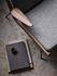 Poltrona imbottita Boomerang HM2 (1956) - / Con braccioli - Noce di &tradition