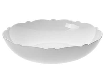 Tableware - Bowls - Dressed Salad bowl - Ø 29 cm by Alessi - White - China