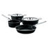 Pots&Pans Set of kitchen ustensils - / 4-piece set + 2 lids - All heat sources including induction by A di Alessi
