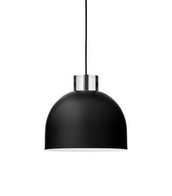 Illuminazione - Lampadari - Sospensione Luceo Ronde - / Small Ø 28 cm - Metallo & vetro di AYTM -  - Ferro dipinto, Vetro