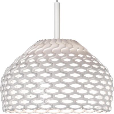 Illuminazione - Lampadari - Sospensione Tatou S1 - Ø 28 cm di Flos - Blanc - Metacrilato, policarbonato