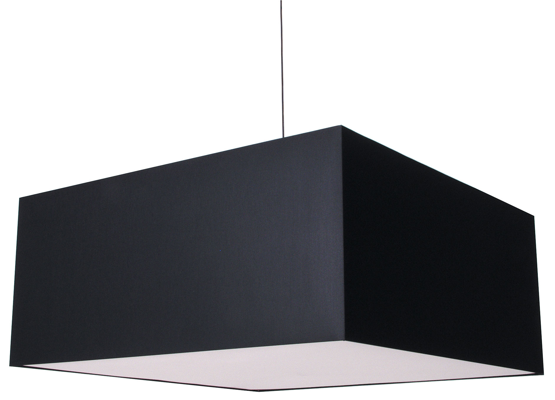 Luminaire - Suspensions - Suspension Square Boon - Moooi - Noir - Coton
