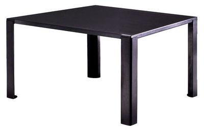 Table Big Irony / 135x135 cm - Zeus noir en métal