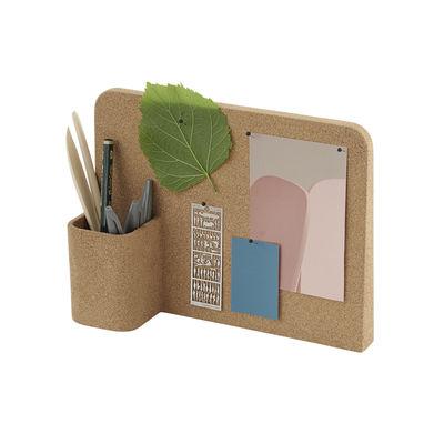 Decoration - Children's Home Accessories - Story Memo board - / Pencil pot - Cork by Muuto - Cork - Cork
