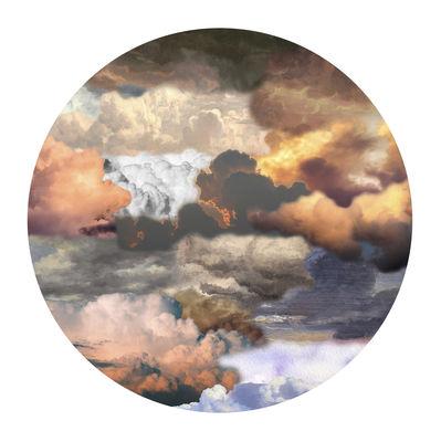 Déco - Tapis - Tapis Walking on Clouds Dusk / Ø 250 cm - Moooi Carpets - Crépuscule - Polyamide