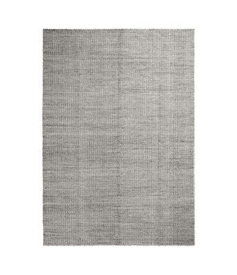 Moiré Kelim Small Teppich / 140 x 200 cm - handgewebt - Hay - Grau