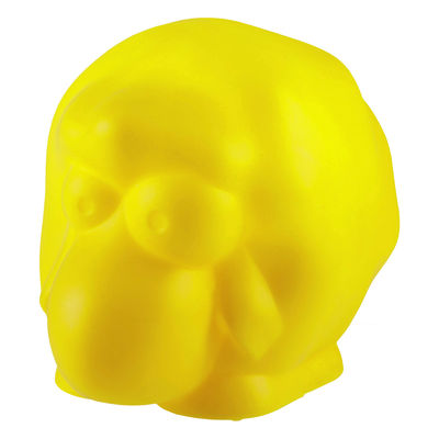 Decoration - Children's Home Accessories - Rina Ambient lamp - Luminous sheep by Slide - Yellow - recyclable polyethylene