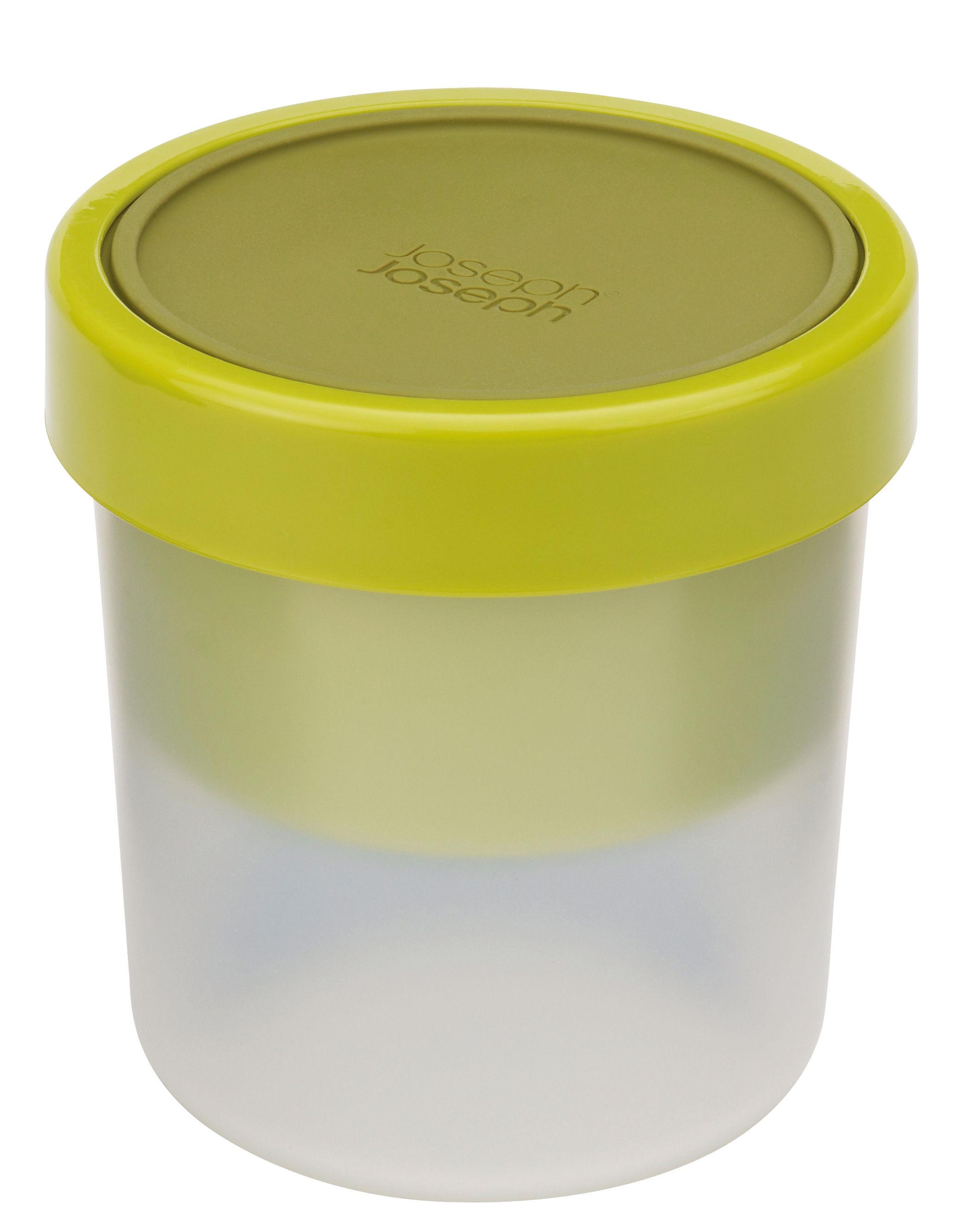 Cucina - Lattine, Pentole e Vasi - Contenitore ermetico GoEat - / Minestra - Set da 2 scatole impilabili di Joseph Joseph - Verde - Polipropilene, Silicone