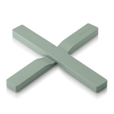 Dessous de plat magnétique / Pliable - Eva Solo vert délavé en matière plastique