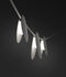 June LED Garland - / Discs - L 130 cm by Vibia