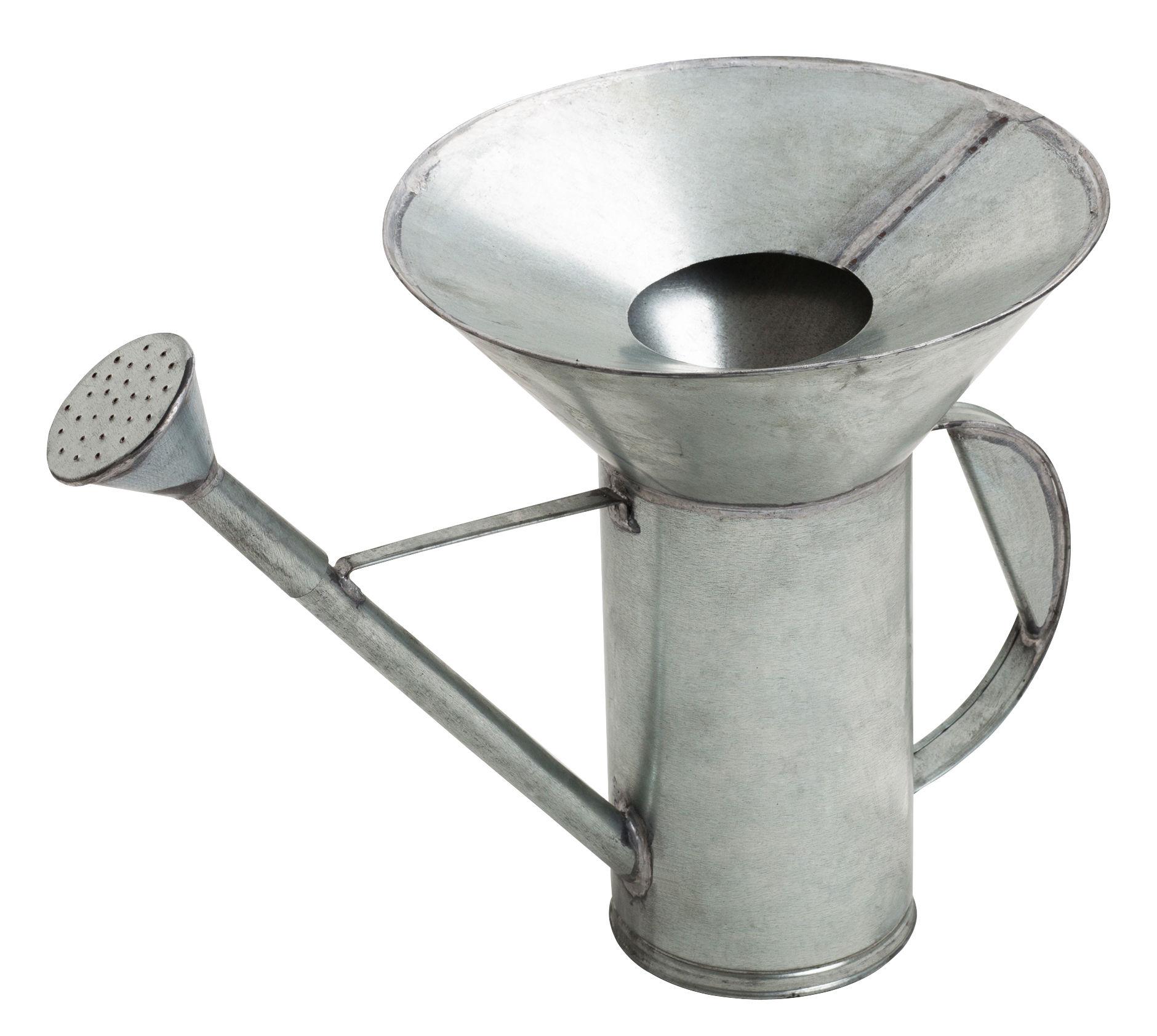 Outdoor - Vasi e Piante - Innaffiatoio Idro - / 2 litri di Internoitaliano - Metallo - Tôle galvanisée