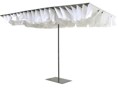 Parasol Breezer - Sywawa blanc,ardoise en métal