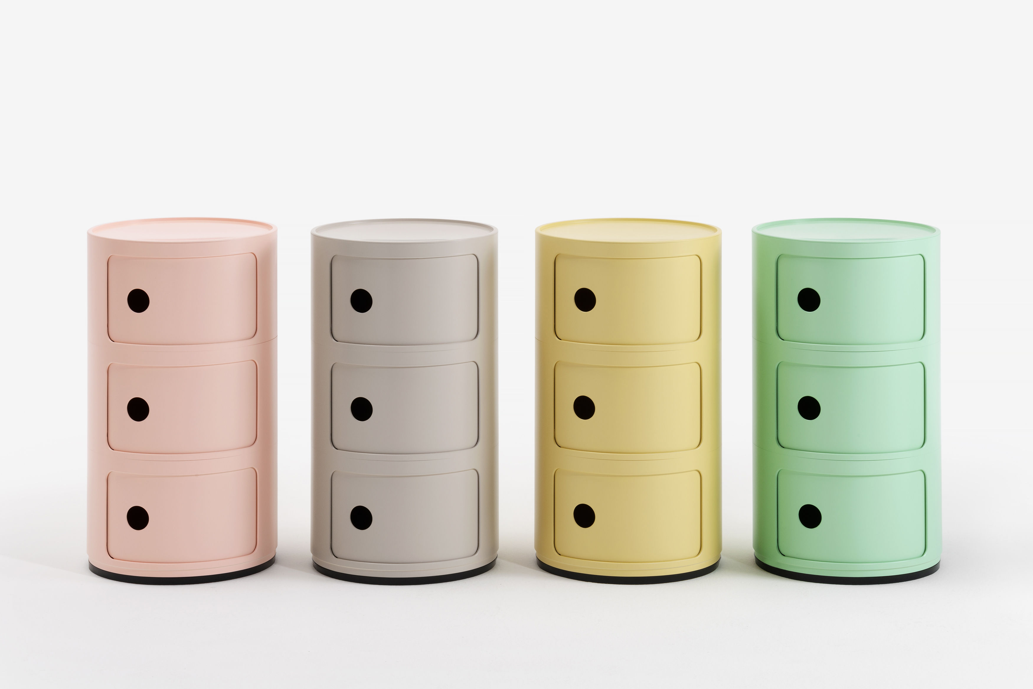 Table De Chevet Componibili rangement componibili bio / 3 tiroirs - matériau naturel