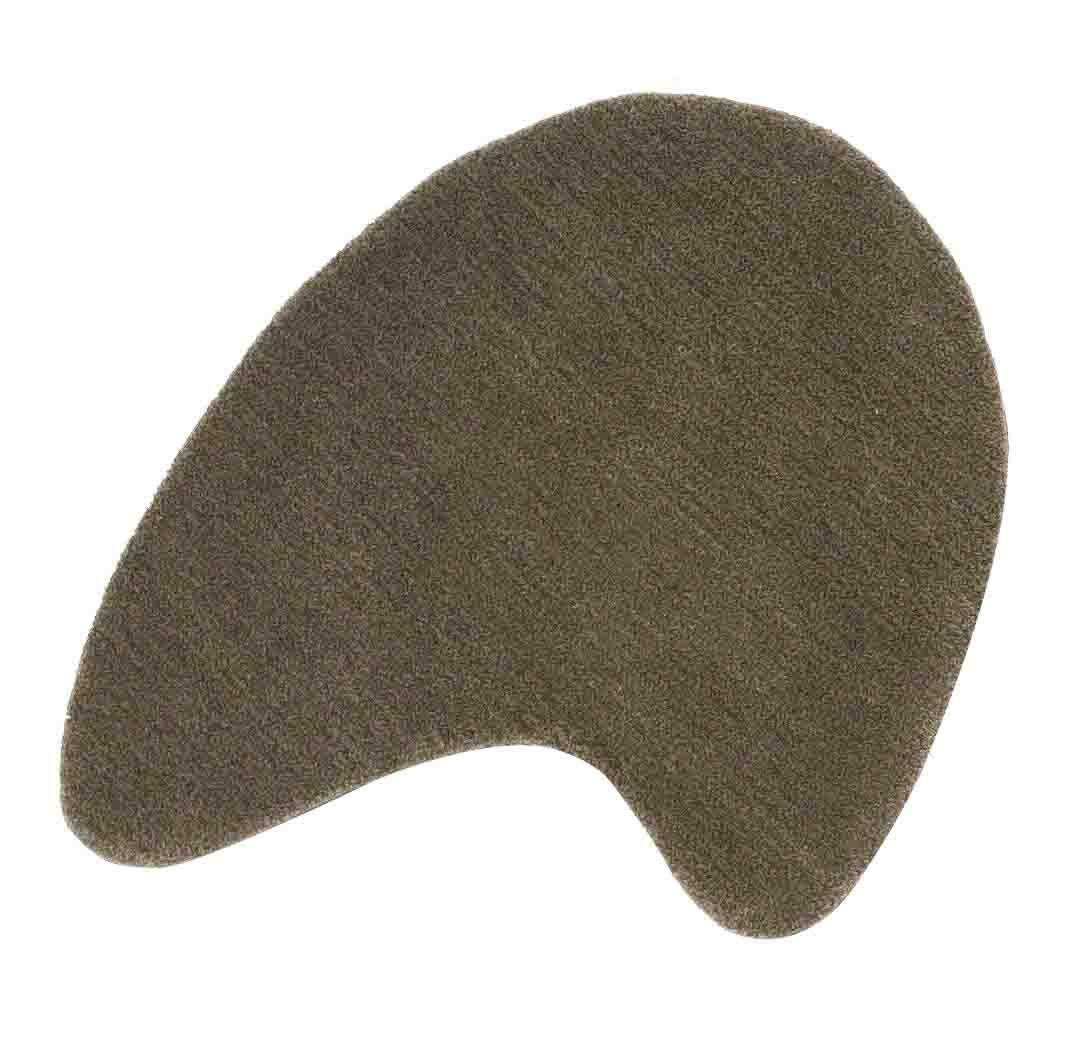 Furniture - Carpets - Little Stone 8 Rug - 65 x 70 cm by Nanimarquina - 65 x 70 cm - Mole stone - Wool