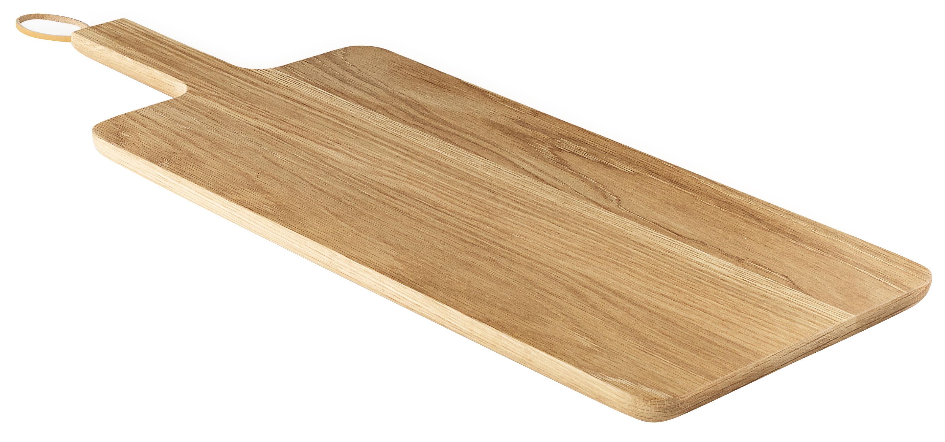Küche - Küchenutensilien - Nordic Kitchen Schneidebrett / Eiche - 22 x 44 cm - Eva Solo - Eiche / 22 x 44 cm - Eiche, Leder