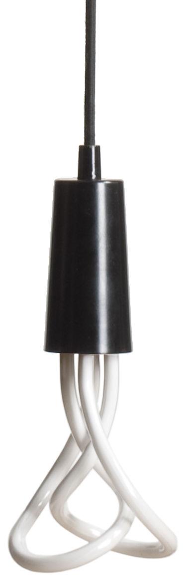 Luminaire - Suspensions - Suspension Drop Cap / Sans ampoule - Plumen - Noir - Métal laqué