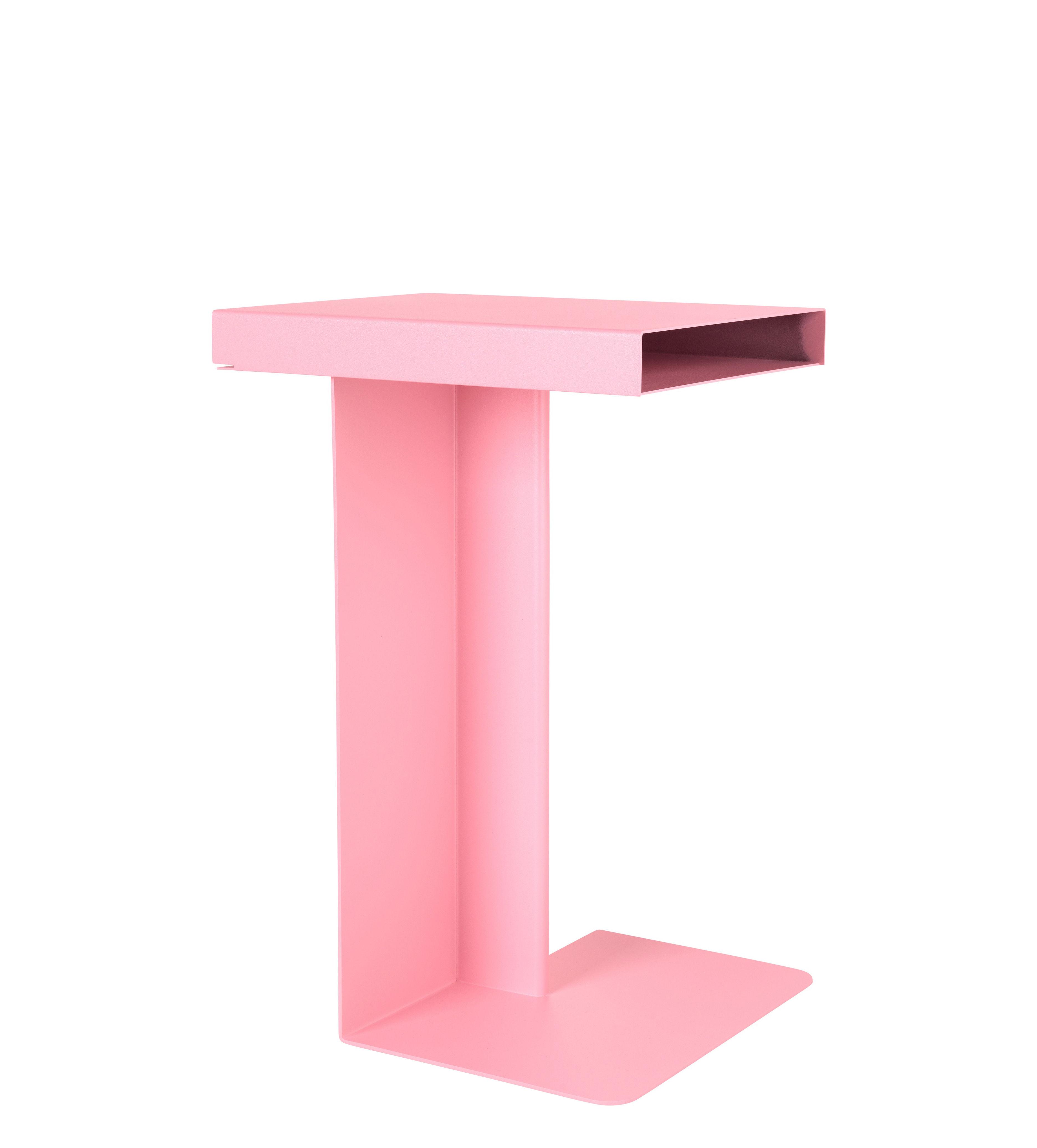 Mobilier - Tables basses - Table d'appoint Radar / H 55 cm - Métal - Nomess - Rose - Métal laqué époxy