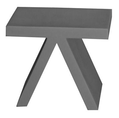 Table d'appoint Toy - Slide gris en matière plastique