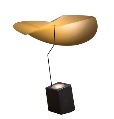 Lighting - Table Lamps - Ekil Table lamp - / Metal by Presse citron - Cumin / Graphite - Lacquered steel