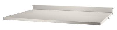 Tablette String® System / Bureau - L 78 x P 58 cm - String Furniture beige en bois