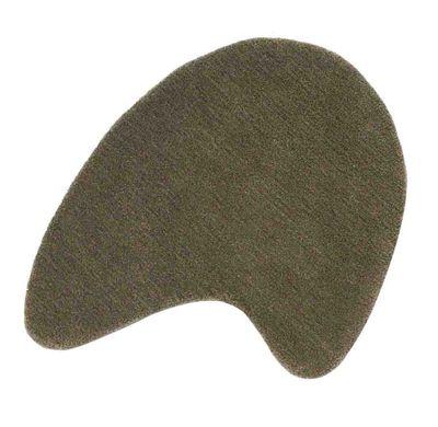Arredamento - Tappeti  - Tappeto Little Stone 8 - 65 x 70 cm di Nanimarquina - 65 x 70 cm - Grigio talpa - Lana