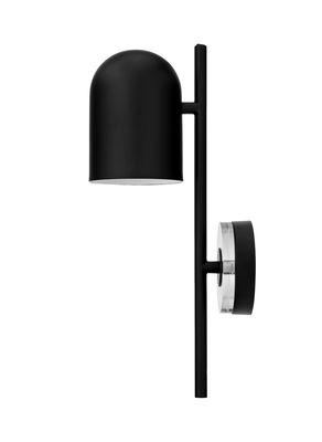 LUCEO Wandleuchte / verstellbar - Metall & Glas - AYTM - Schwarz,Transparent