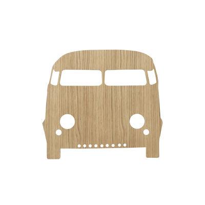 Interni - Per bambini - Applique con presa Car - /Rovere di Ferm Living - Rovere chiaro - Rovere