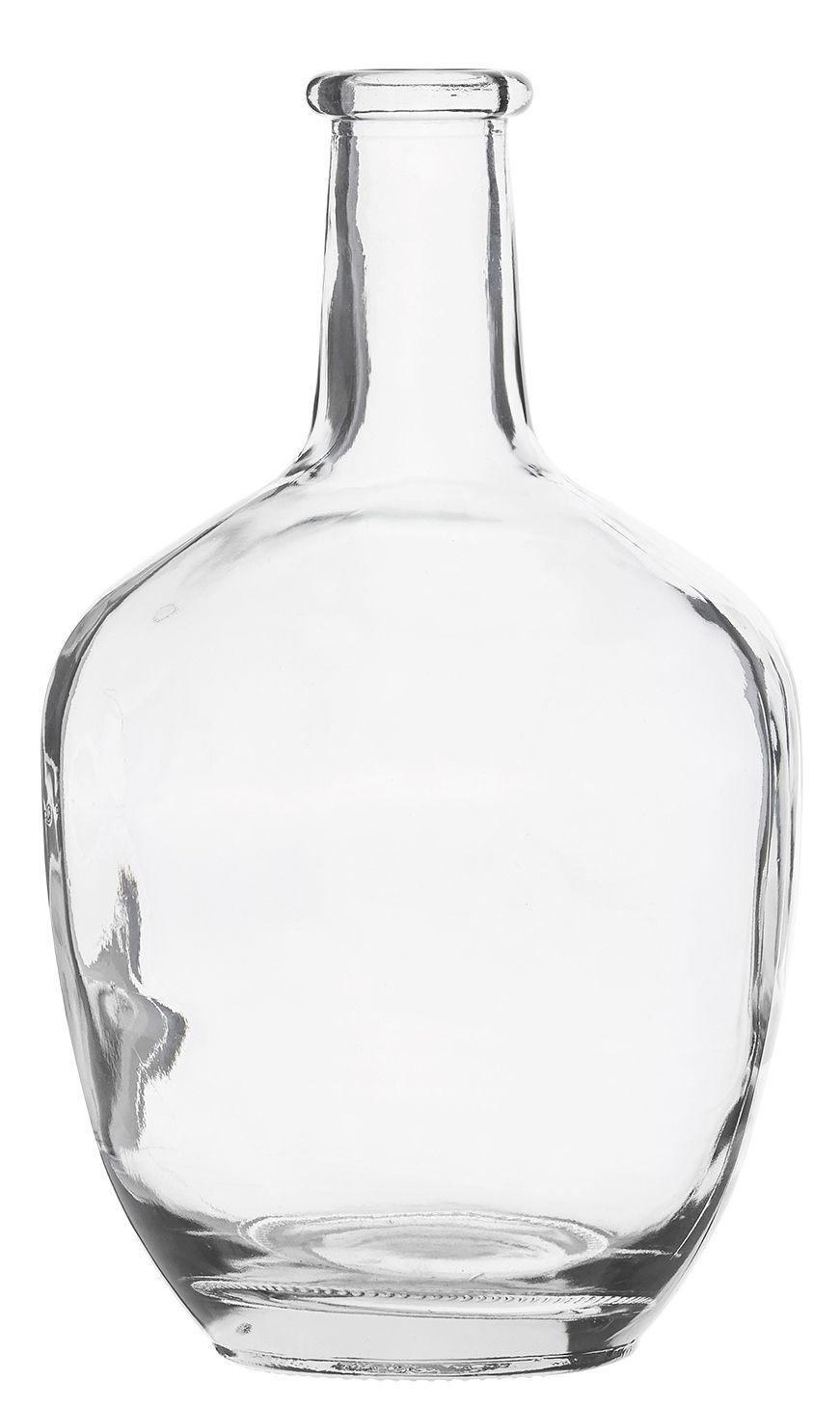Decoration - Vases - Bottle Bud vase - Glass - H 25,5 cm by House Doctor - Transparent - Glass