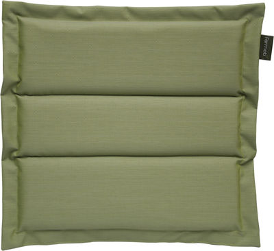 Coussin d´extérieur / Pour chaise et fauteuil Luxembourg & Monceau - Fermob vert aneth en tissu