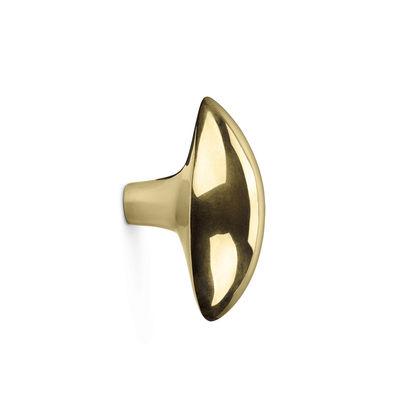 Furniture - Coat Racks & Pegs - Lemon Hook - / Handle - Metal by Ferm Living - Brass - Solid brass