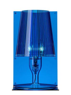Illuminazione - Lampade da tavolo - Lampada da tavolo Take di Kartell - Blu - policarbonato