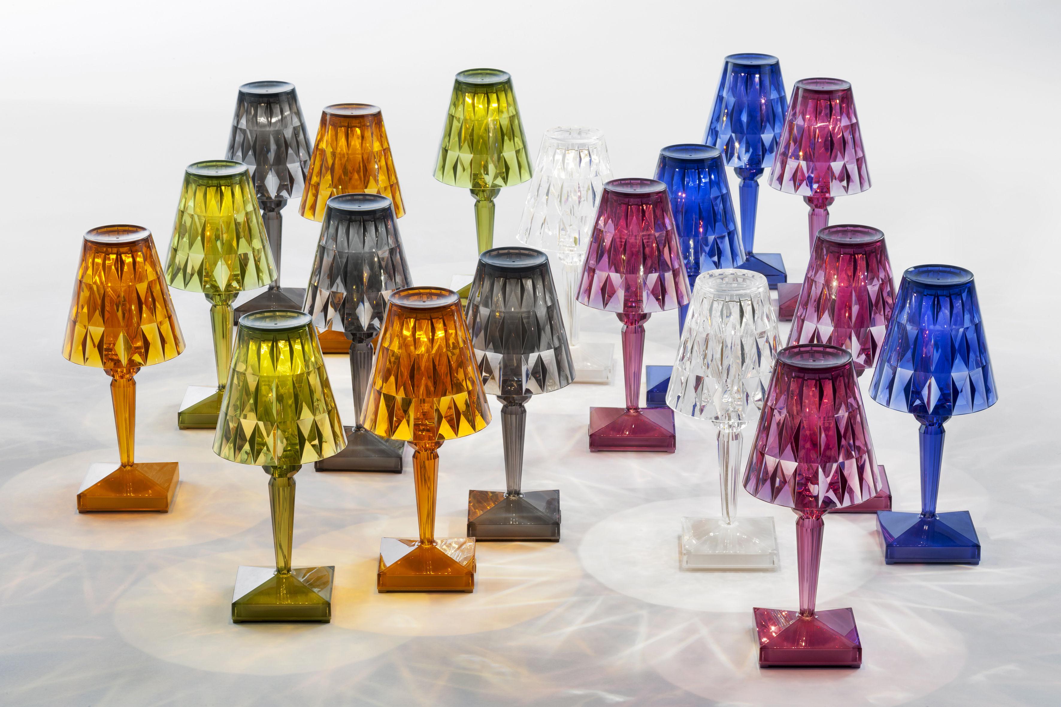 Lampe Ohne Kabel Battery LED Von Kartell - Grün