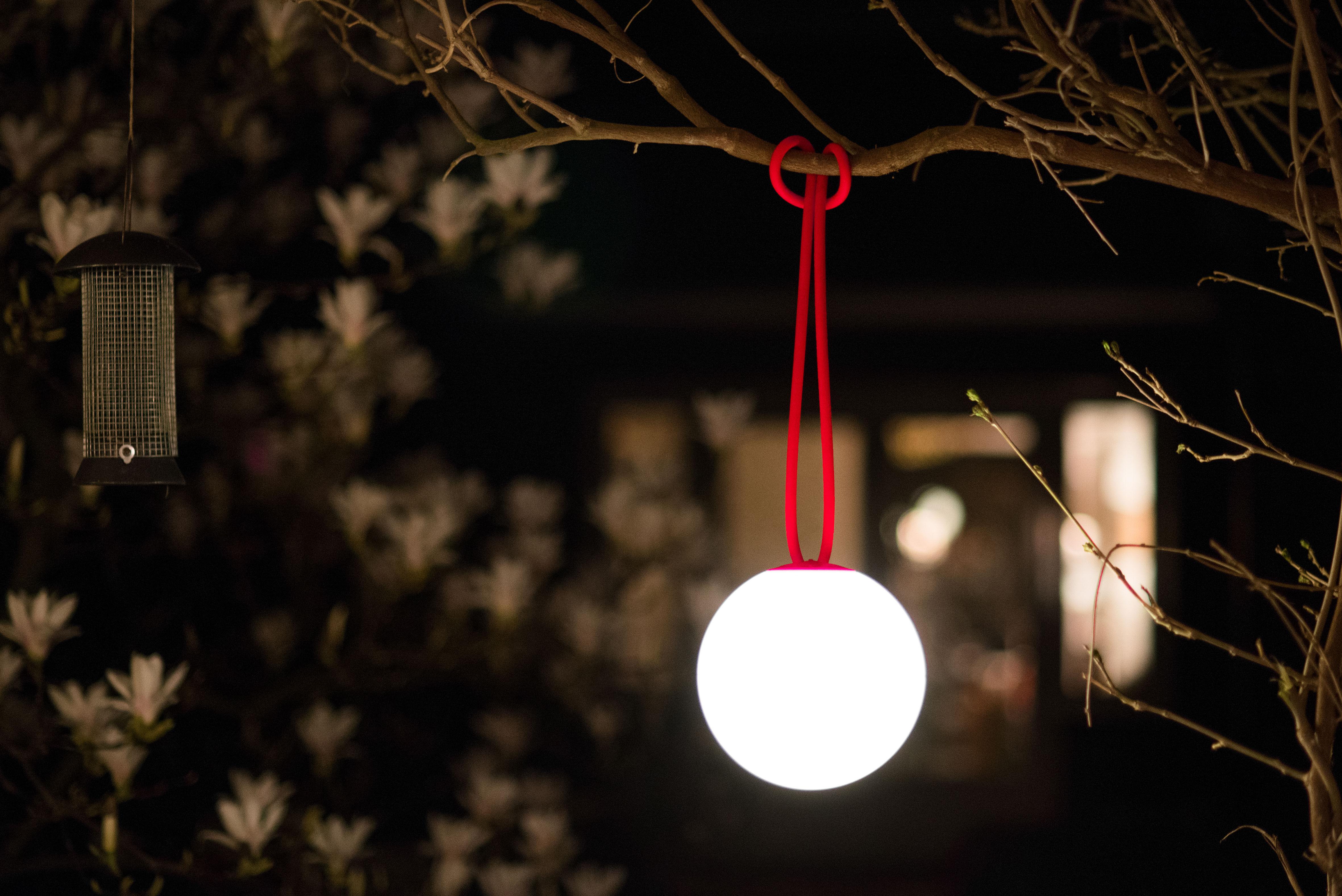 bolleke lampe ohne kabel - led - für haus und garten - mit usb