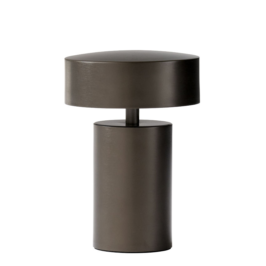 Luminaire - Lampes de table - Lampe sans fil Column / LED - Métal - Menu - Bronze - Aluminium
