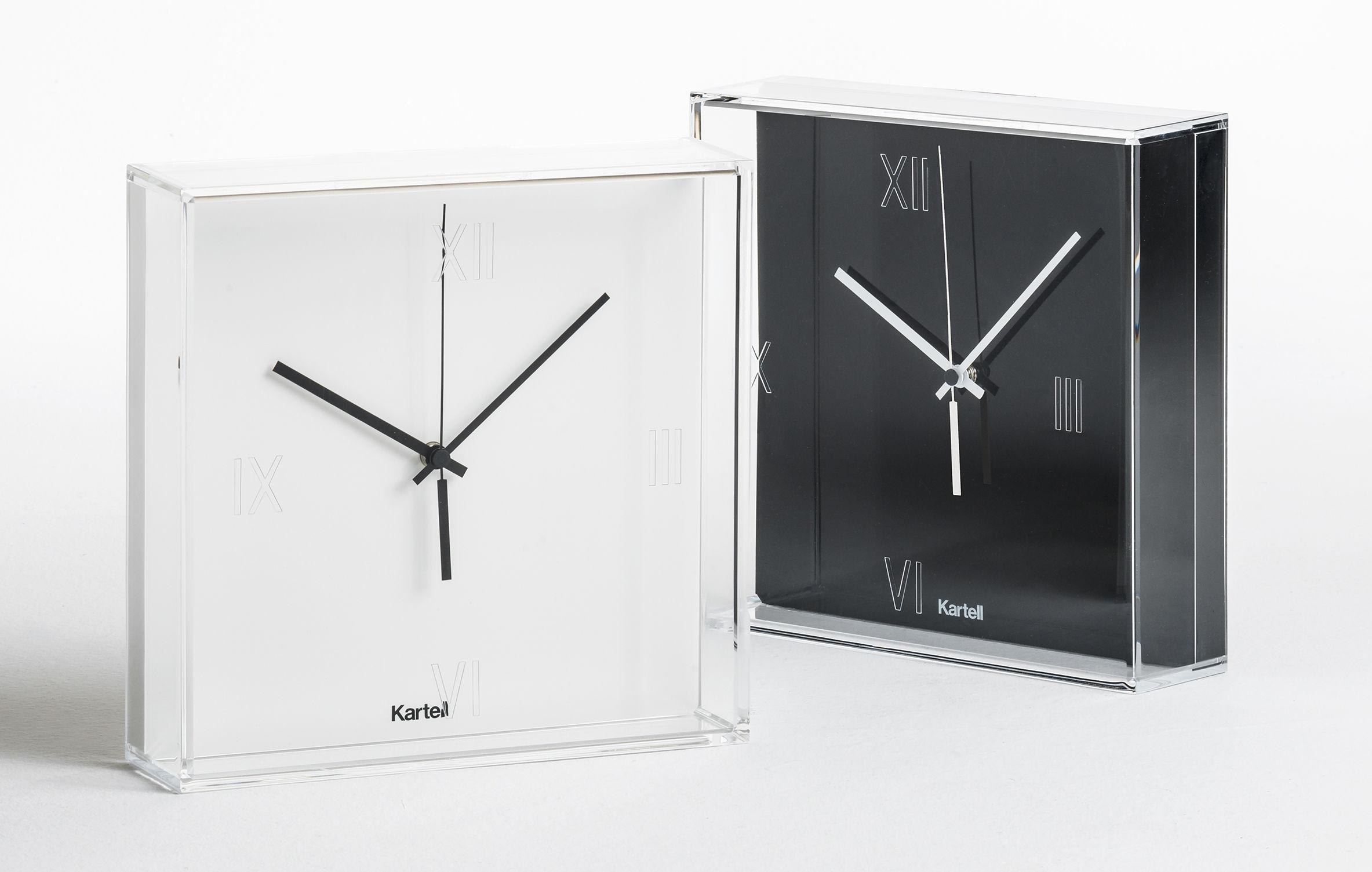 orologio murale tic tac di kartell nero made in design