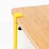Gamba con fissaggio a morsetto / H 43 cm - Per tavolino basso & panca - TipToe