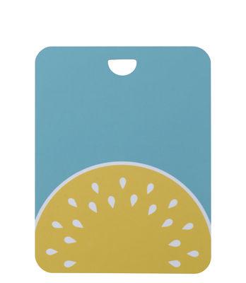 Arts de la table - Plateaux - Planche à découper Melon / 25 x 19 cm - Fermob - Turquoise - Stratifié-mélaminé