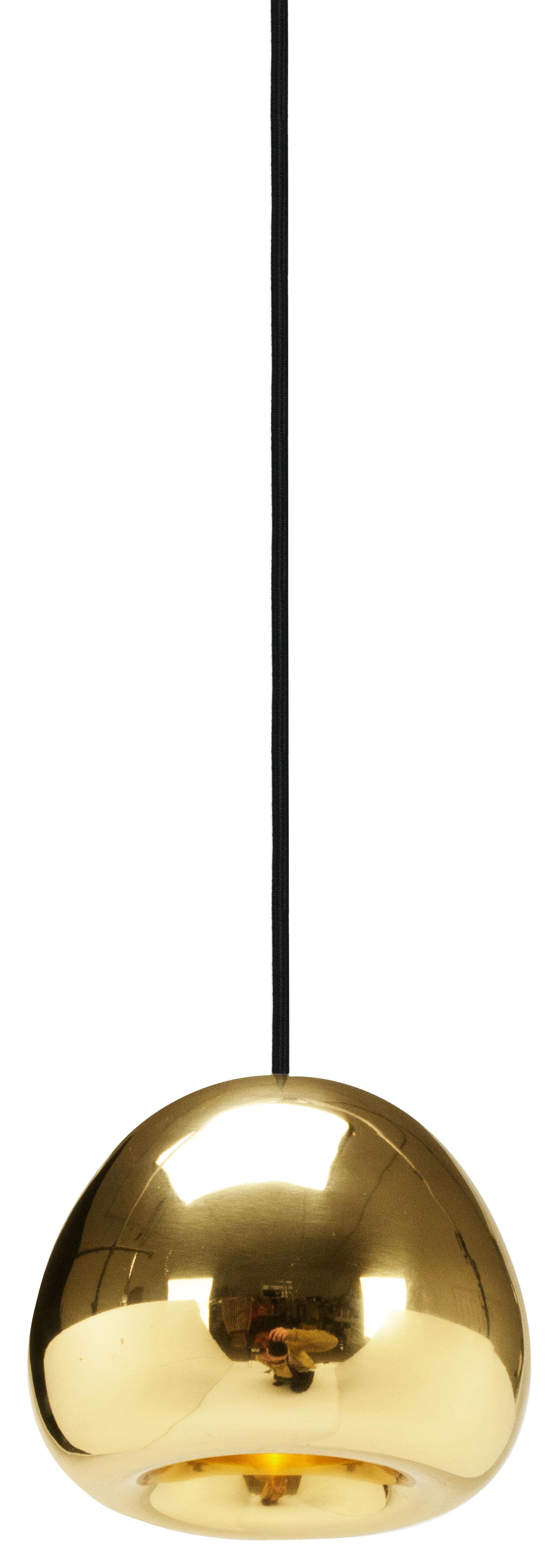 Illuminazione - Lampadari - Sospensione Void Mini - Ø 15,5 cm di Tom Dixon - Ottone - Ottone lucido