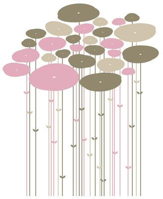 Déco - Stickers, papiers peints & posters - Sticker Jungle - Domestic - Harmonie rose - Vinyle