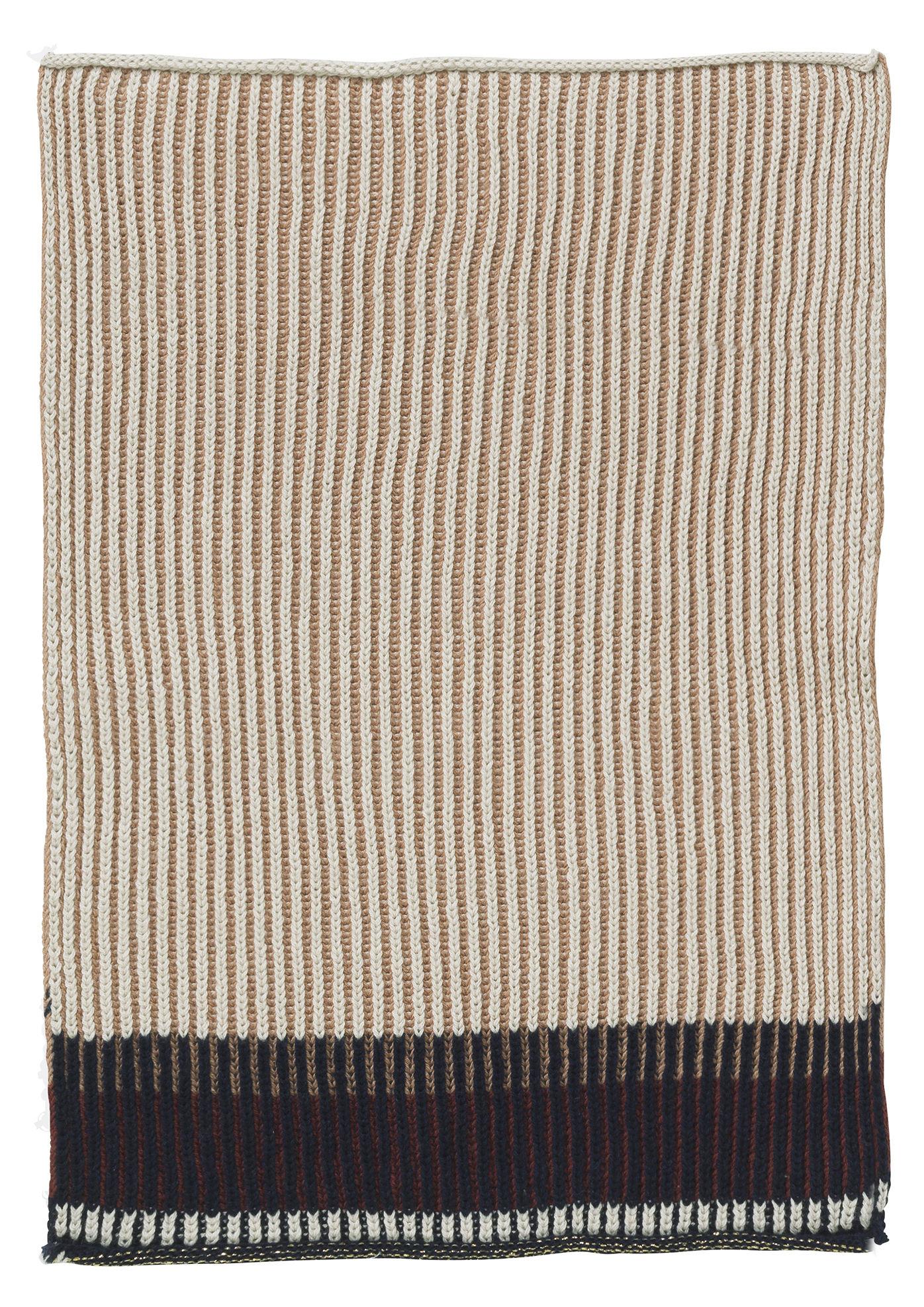 Cucina - Grembiuli e Strofinacci - Strofinaccio Akin - / 34 x 70 cm di Ferm Living - Rosa - Cotone