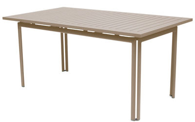 Table Costa / 160 x 80 cm - Fermob muscade en métal