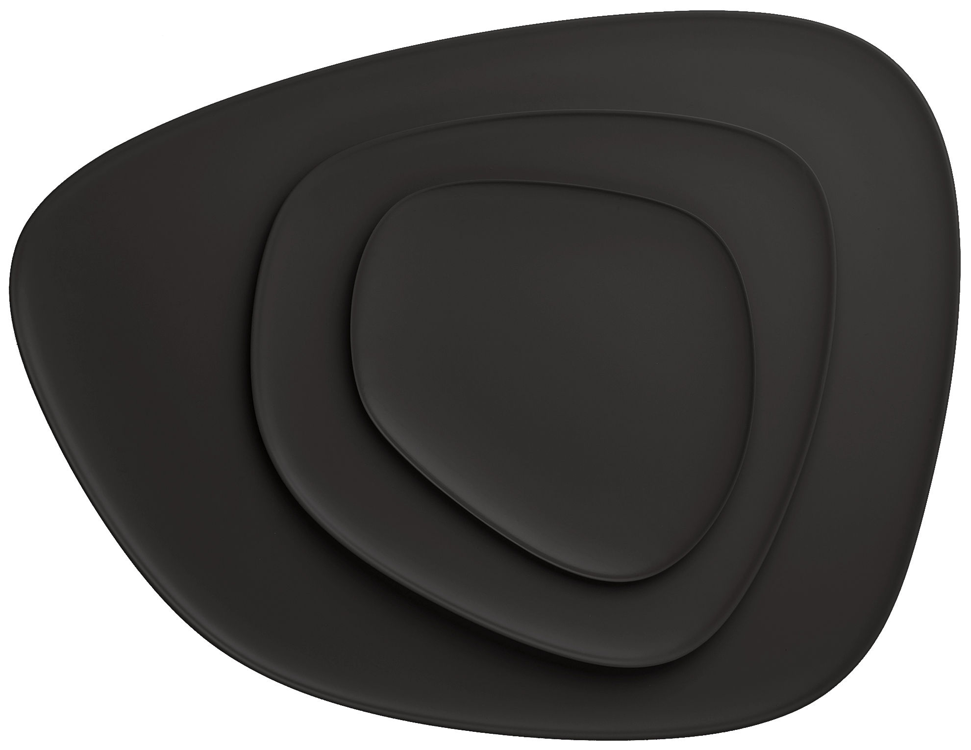 teller namast von kartell schwarz made in design. Black Bedroom Furniture Sets. Home Design Ideas